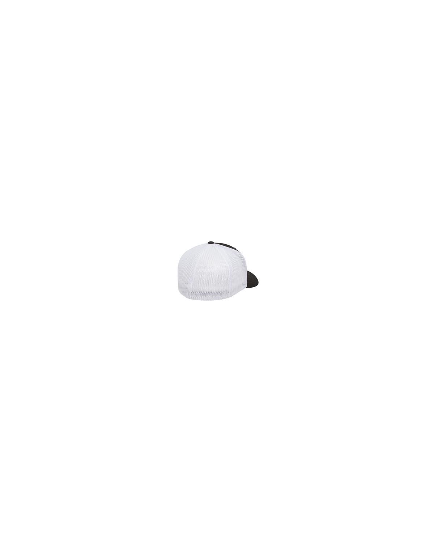 6511 Flexfit BLACK/WHITE