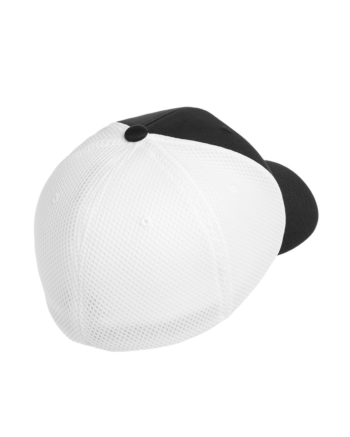 6533 Flexfit BLACK/WHITE