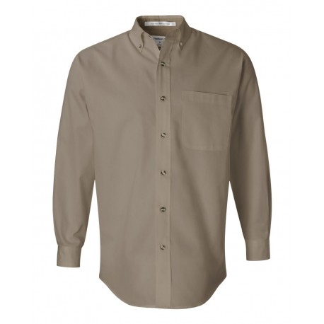 3281 FeatherLite 3281 Long Sleeve Stain-Resistant Twill Shirt Sandalwood/ Stone