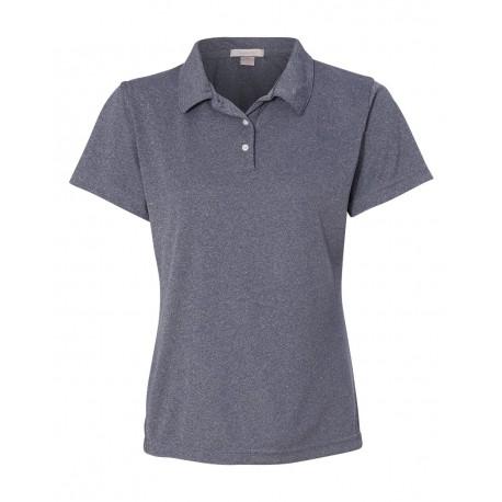 5469 FeatherLite 5469 Women's Moisture Free Mesh Sport Shirt Heathered Navy