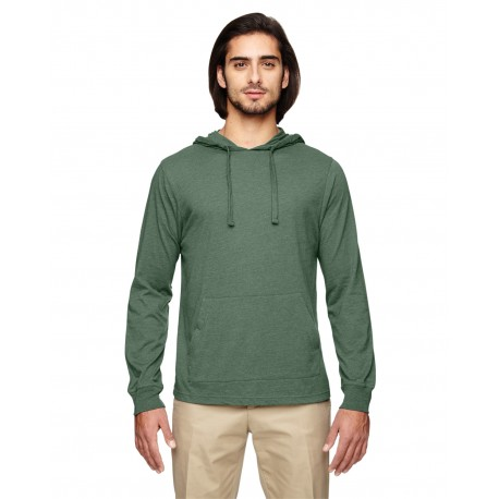 EC1085 Econscious EC1085 Unisex 4.25 oz. Blended Eco Jersey Pullover Hoodie ASPARAGUS