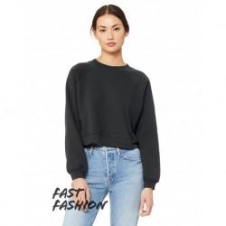 Bella + Canvas B7505 Ladies Raglan Pullover Fleece