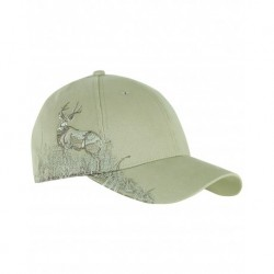 Dri Duck DI3282 Deer Mule Camo Structured Mid-Profile Hat