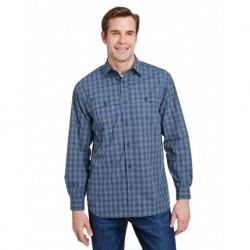 Dri Duck 4465 Yarn-Dyed Poplin Paseo Plaid Shirt
