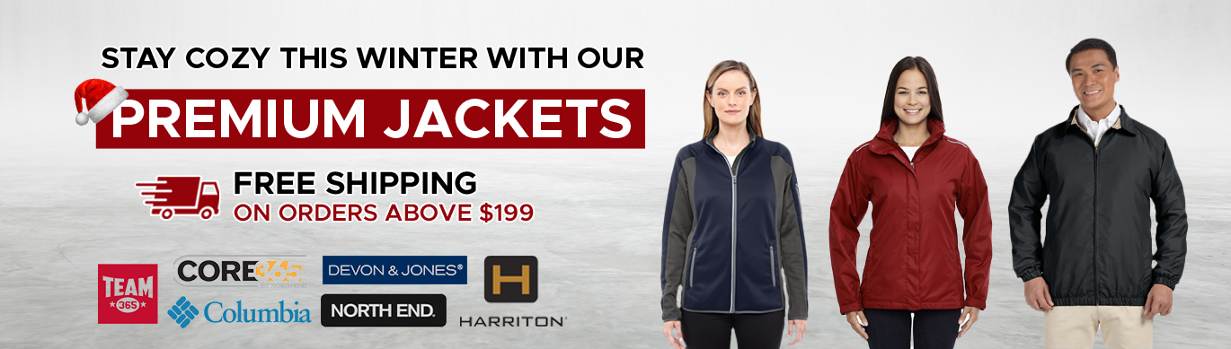 Stay cozy with our premium jackets