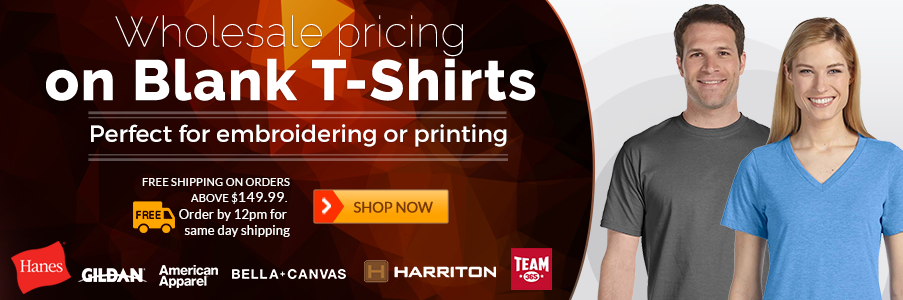 wholesale price on blank tshirts